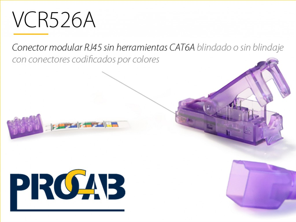 Ya disponible VCR526A de PROCAB